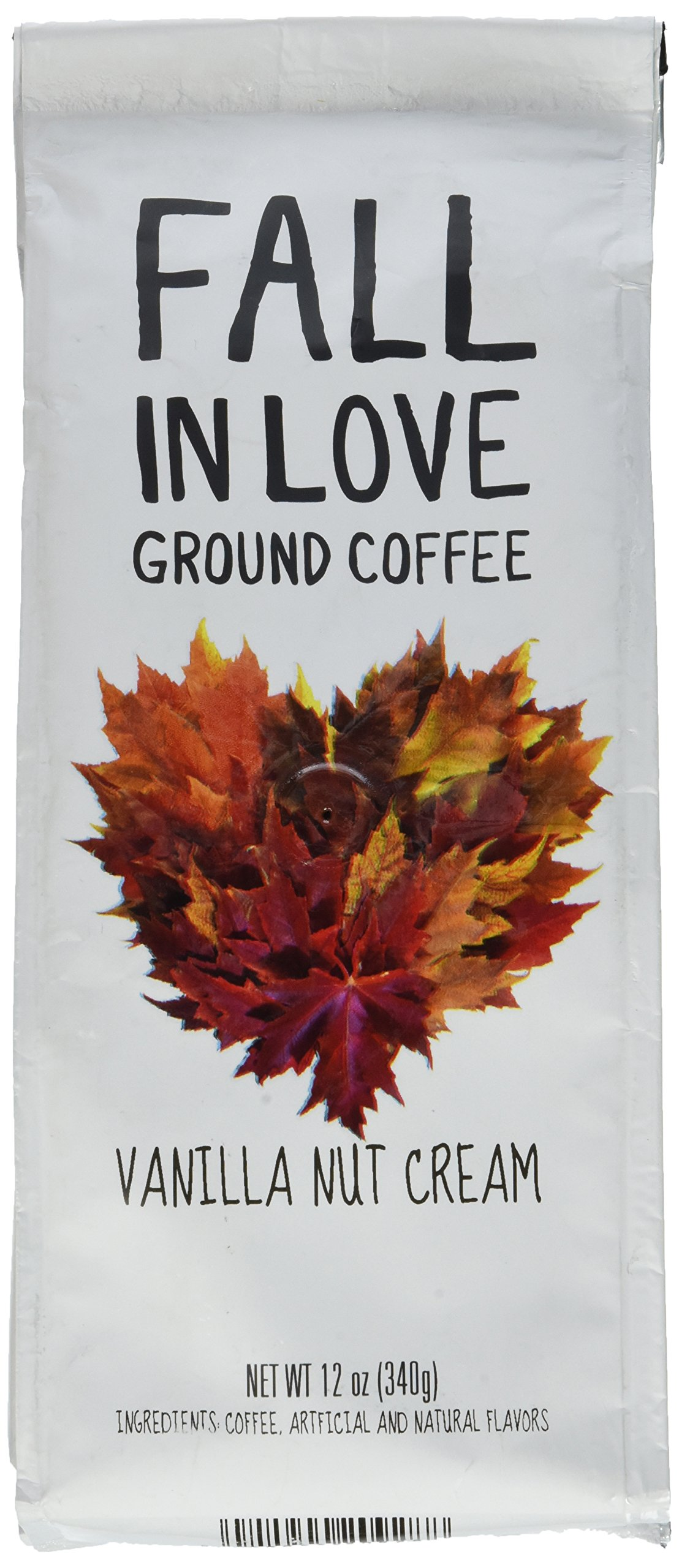 Fall In Love Flavored 12 Oz Ground Coffee (Vanilla Nut Cream, 12 oz) by Paramount Coffee (Image #1)