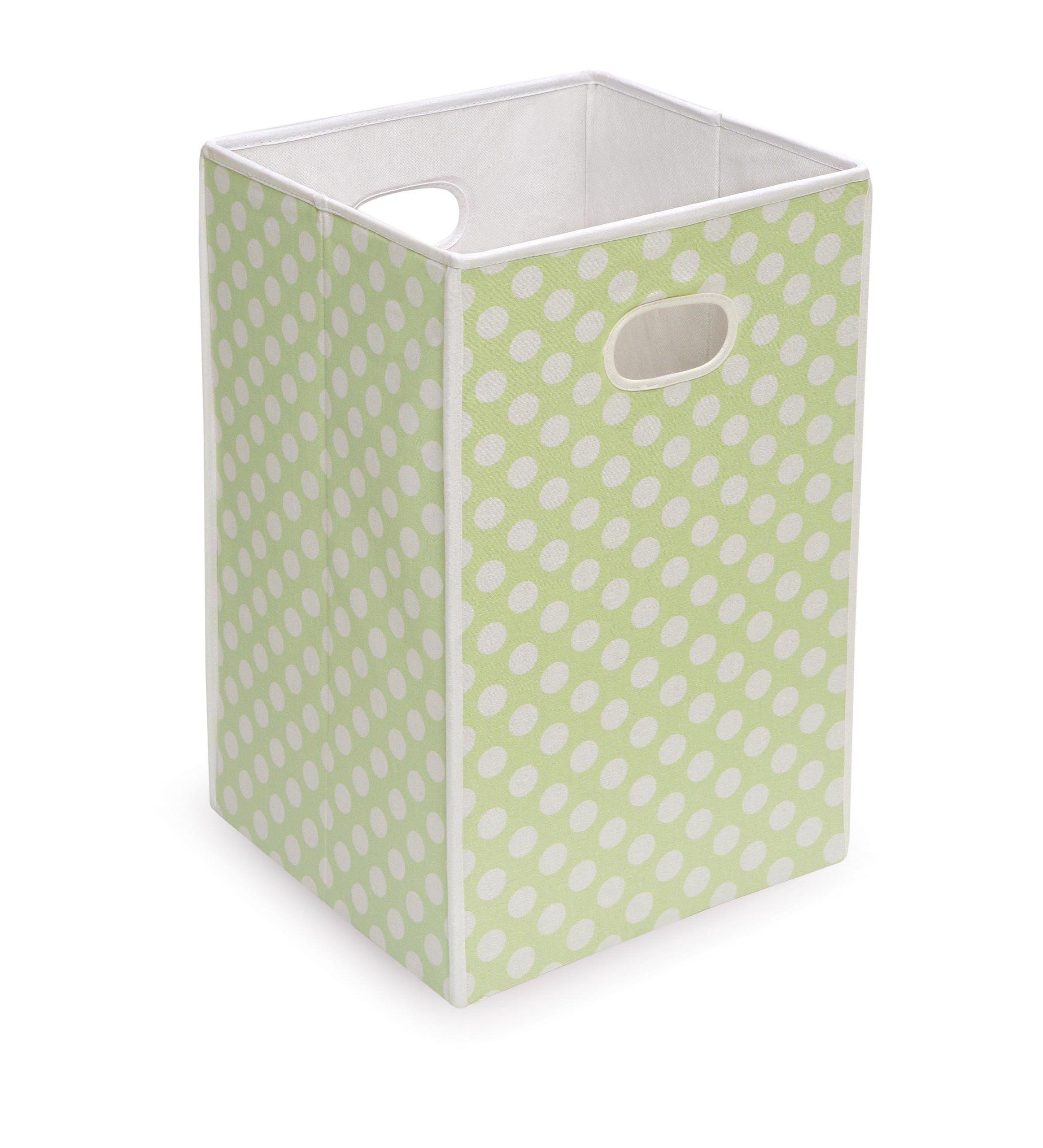 Badger Basket Folding Hamper/Storage Bin, Sage
