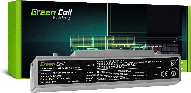 Green Cell/® Standard Series AA-PB9NC6B//AA-PB9NS6B Battery for Samsung Serie 3 NP300E5A NP300E5C NP300E5E NP300E7A NP300V5A NP305E5A NP305E7A NP305V5A NP310E5C Laptop 6 Cells 4400mAh 11.1V White