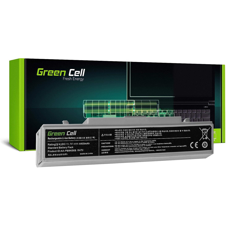 6 Pile 4400mAh 11.1V Bianco Green Cell/® Standard Serie AA-PB9NC6B//AA-PB9NS6B Batteria per Portatile Samsung Serie 3 NP300E5A NP300E5C NP300E5E NP300E7A NP300V5A NP305E5A NP305E7A NP305V5A NP310E5C
