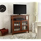 Convenience Concepts Designs2Go Contemporary Big Sur Highboy TV Stand, Cherry