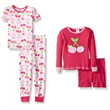 Amazon Price History for:Gerber Baby and Little Girls' 4 Piece Cotton Pajama Set