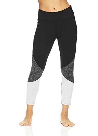 935e95c173425 Amazon.com: Gaiam Women's Capri Yoga Pants - Performance Spandex Compression  Legging - Black Heather Mix, X-Small: Clothing