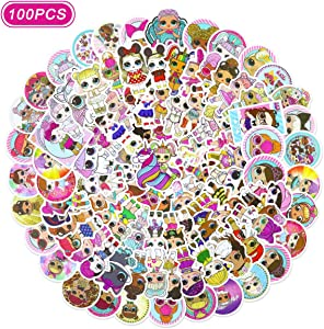 LO_L Stickers 100 pcs Vinyl Waterproof Stickers for Water Bottles, Hydro Flask, Car, Laptop, Kids Boys Girls Toy, Luggage, Skateboard, Motorcycle, Bicycle, Decal Graffiti Patches