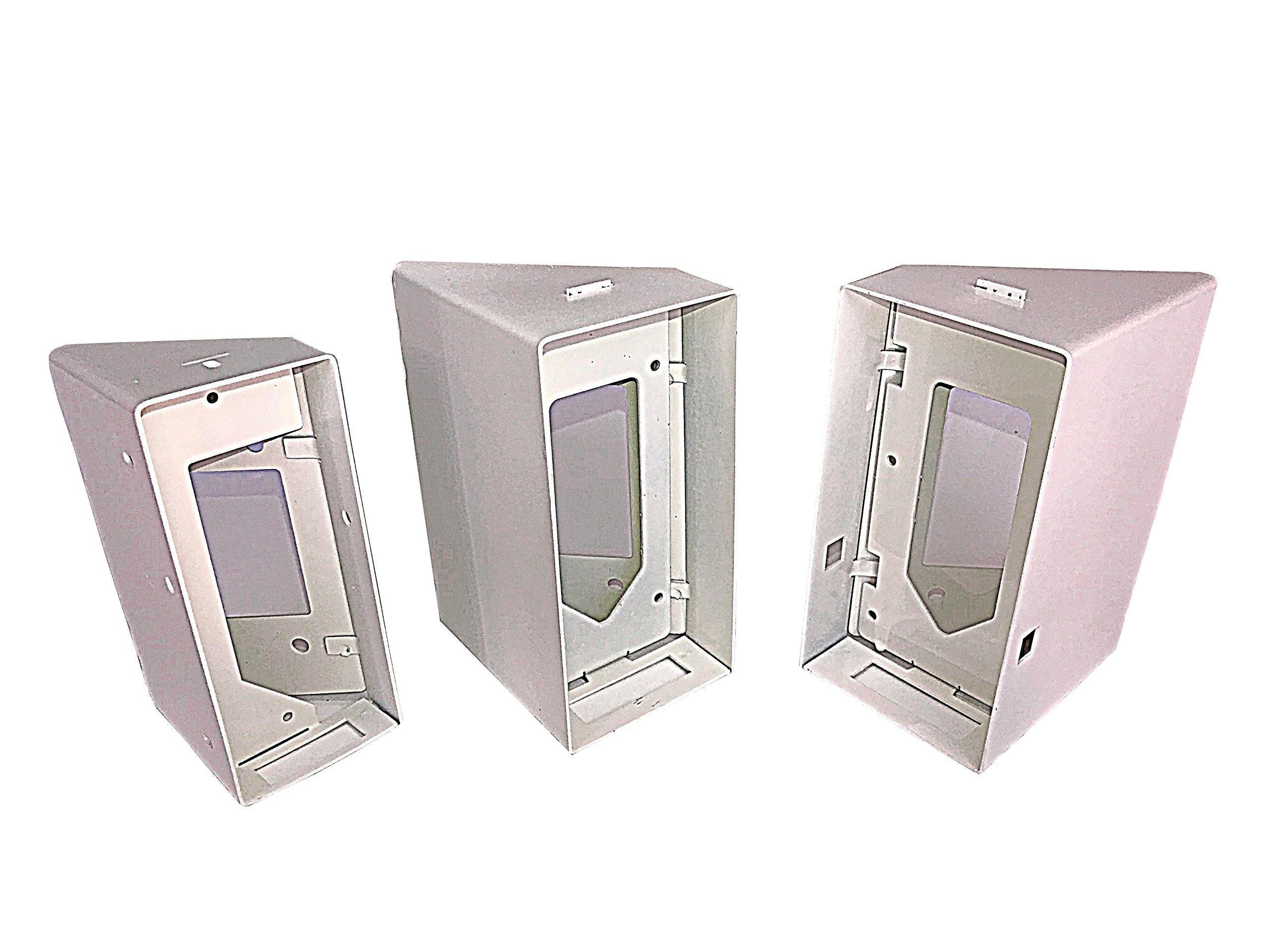 SunStateSpecialties 45 Degree Angle Ring Doorbell Mounting Box (Ring Doorbell PRO, Right Side Mount)
