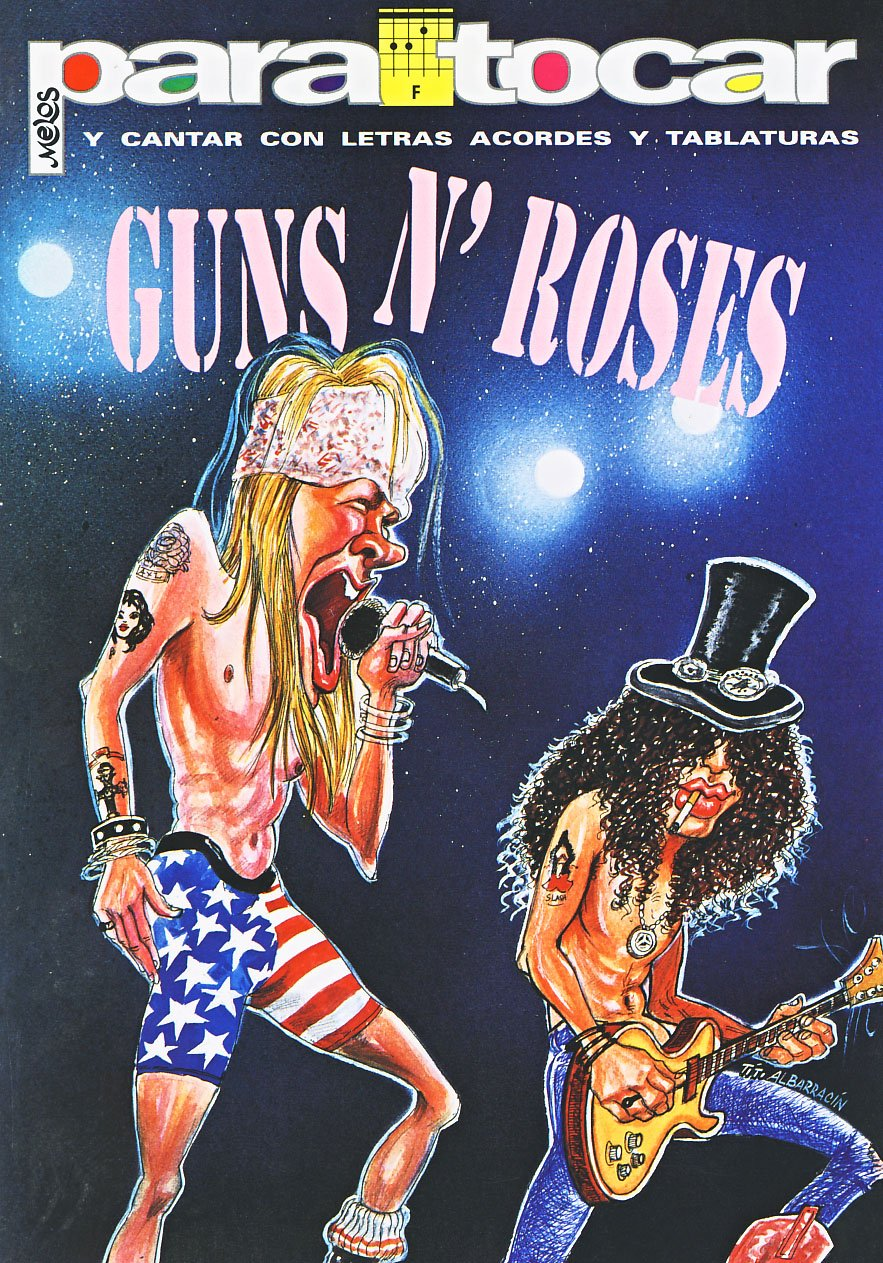 GUNS and ROSES - Cancionero Vol.1 Letras y Acordes para Guitarra ...