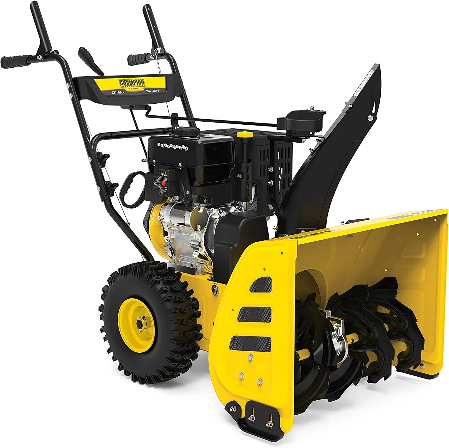 Champion Power Equipment 301cc 27-Inch 2-Stage Gas Snow Blower with Electric Start