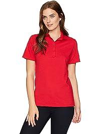 d5470ec027874 Hanes Womens Women s Pique Polo Polo Shirt