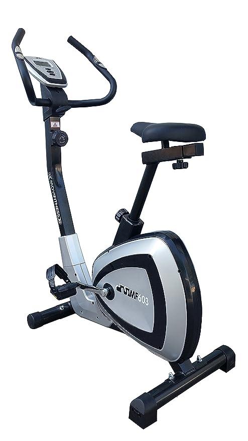 Movi Fitness mf603 Bicicleta estática magnética, Silver/Negro ...