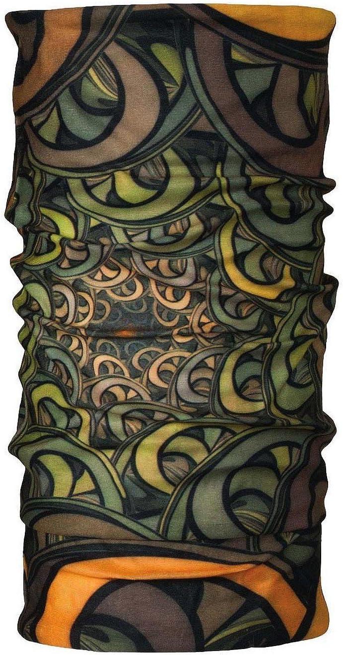 Multifunktionstuch Bandana Schlauchschal Schlauchtuch Halstuch viele Farben