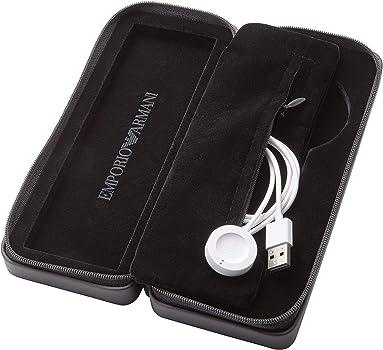 Emporio Armani Smartwatch para Hombre con Correa en Caucho ART5008: Amazon.es: Relojes