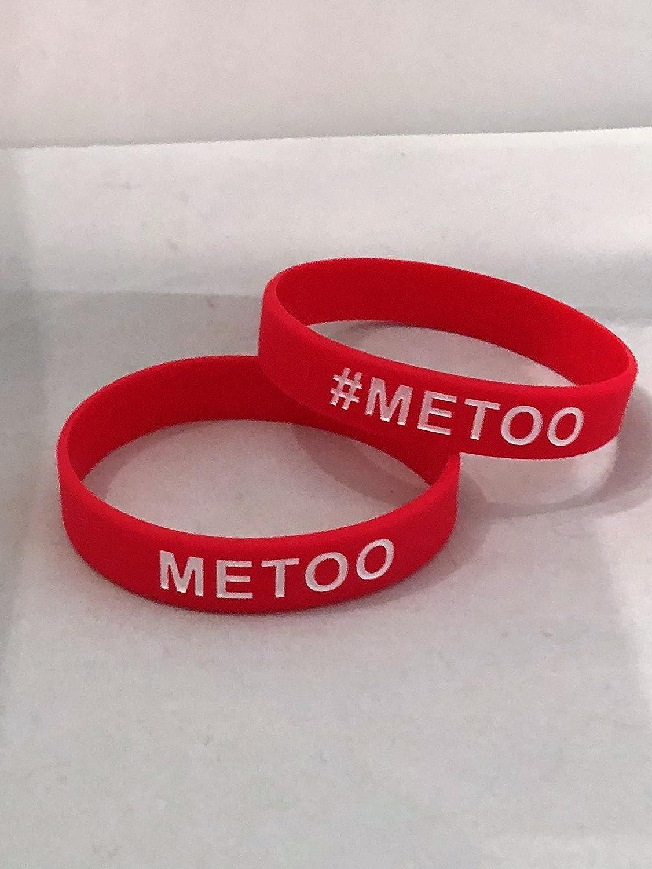 bb183ff2a281f Amazon.com : #METOO Bracelet - METOO Movement Silicone Bracelet ...