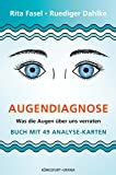 Augendiagnose: Was die Augen über uns verraten - Set m. Buch u. Karten