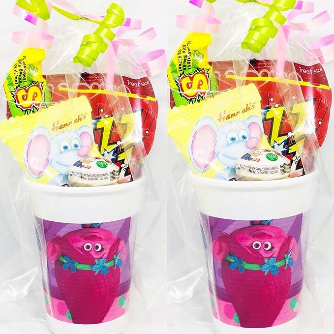 Trolls Party Sweet Cup Gift - Bolsas de fiesta prerellenas ...