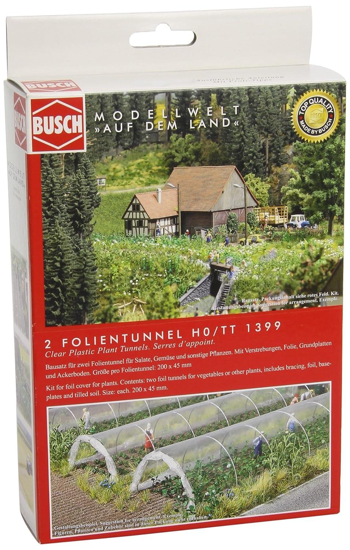 Busch Environnement BUE1399 - Modélisme - Serres pour Plants Terrains