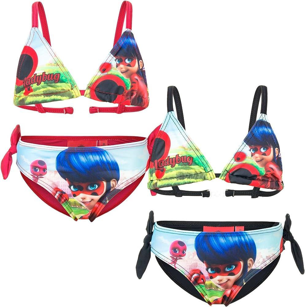 Miraculous - Bikini Traje de baño de 2 Piezas - para niña - 910 ...