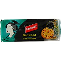 Fantastic Rice Crackers Seaweed, 100 g