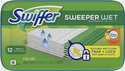 Sweet Citrus /& Zest 28 count Swiffer Sweeper Wet Mopping Refills