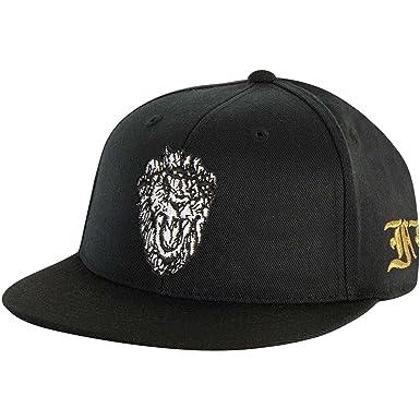 Amazon.com  Big Sean Men s Lion Baseball Cap Adjustable Black  Clothing cf6e23d9a44