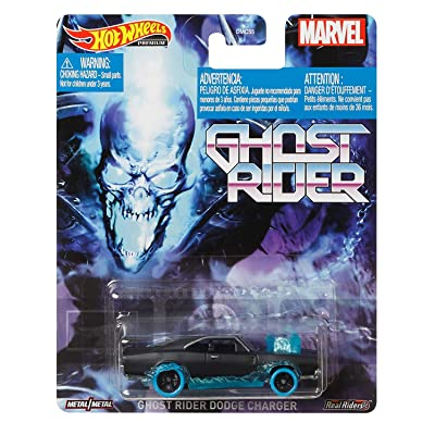Hot Wheels Ghost Rider Dodge Charger: Toys & Games