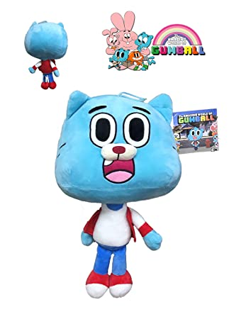 GMBALL the Amazing World of Gumball - Plush Toy Blue: Amazon.in