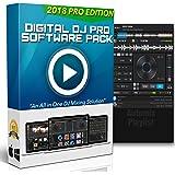 Digital DJ Pro | Professional DJ Mixing Software for Mac & Windows - Controller Support, Karaoke Software & Live Sound Recorder + Bonus Drops & Effects