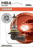 OSRAM ORIGINAL HB4, Halogen-Scheinwerferlampe, 9006-01B, 12V PKW, Einzelblister (1 Stück)