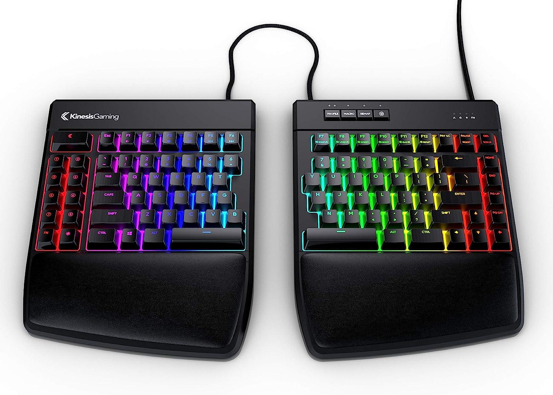 KINESIS Gaming Freestyle RGB Split Mechanical