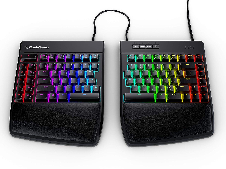 KINESIS Gaming Freestyle Edge RGB Split Mechanical Keyboard MX Brown