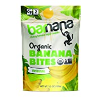 Deals on Barnana Organic Chewy Banana Bites, Original, 3.5 Ounce