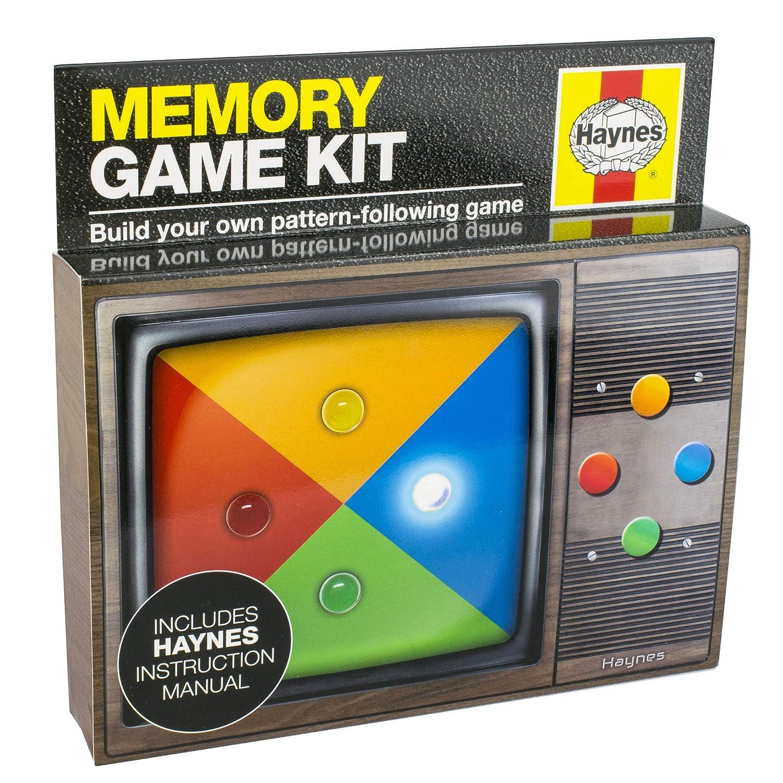 Eight Innovation HNG50363 Haynes Memory-Spielset, Schwarz