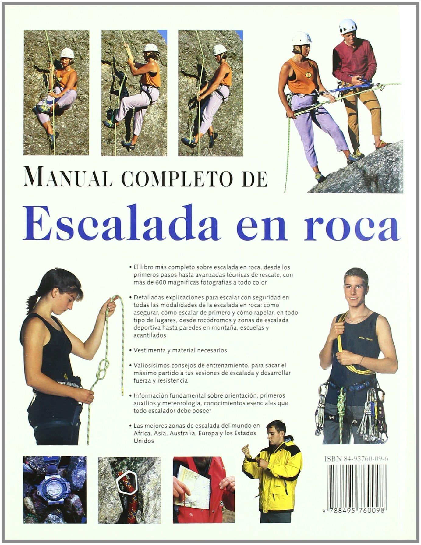 Manual completo de escalada en roca: Amazon.es: Creasey ...