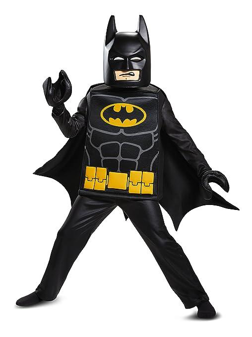 Batman LEGO Movie Deluxe Costume Black Small (4-6)  sc 1 st  Amazon.com & Amazon.com: Batman LEGO Movie Deluxe Costume Black Small (4-6 ...