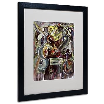 Amazoncom Pearl Jam Artwork By Ikani Beckford Black Frame 16 By