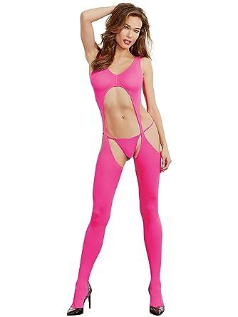 9e1e08722 Dreamgirl 0031N Sheer Suspender Body Stocking