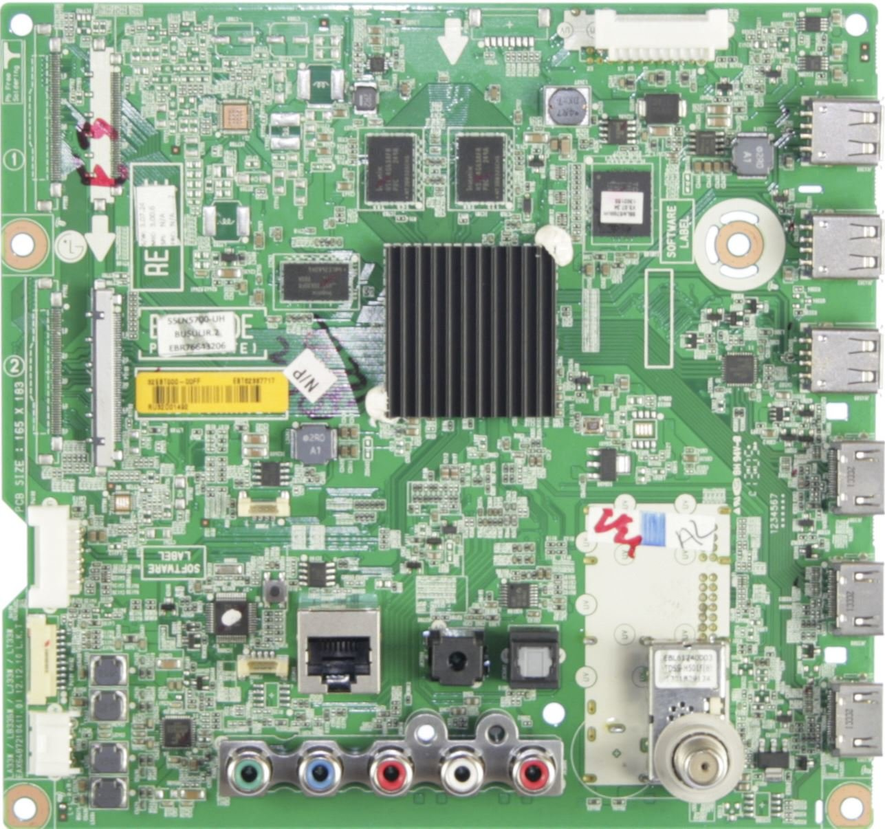 Lg EBT62387717 Main Unit//Input//Signal Board EAX64872104 1.0