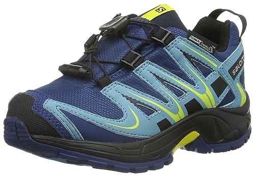 e54bd42255ad Salomon Unisex Kids  Xa Pro 3D CSWP Running Shoes  Amazon.co.uk ...