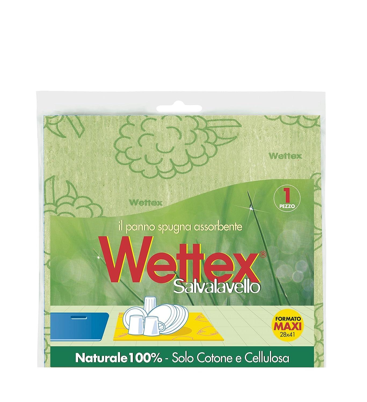 Wettex 102153 Panno Salvalavello, Massima assorbenza, Maxi formato Wettex Italia Wettex; assorbigocce; 100% fibre naturali