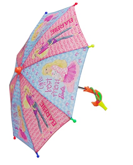 868ae74d3 Buy Toy Umbrella For Kids Amazing Carton Prints With Whistle (Barbie) Online  at Low Prices in India - Amazon.in