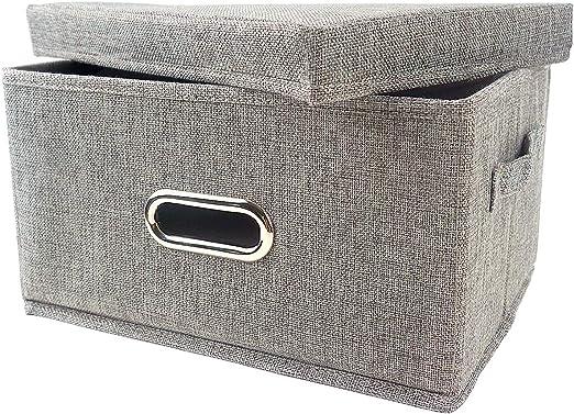 Kcilife storage Caja de Almacenamiento con Tapas, Cajas de ...