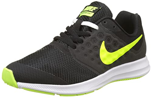 the latest a2045 a797c Nike Downshifter 7 GS, Scarpe da Ginnastica Bambino, Nero (Black/Volt/