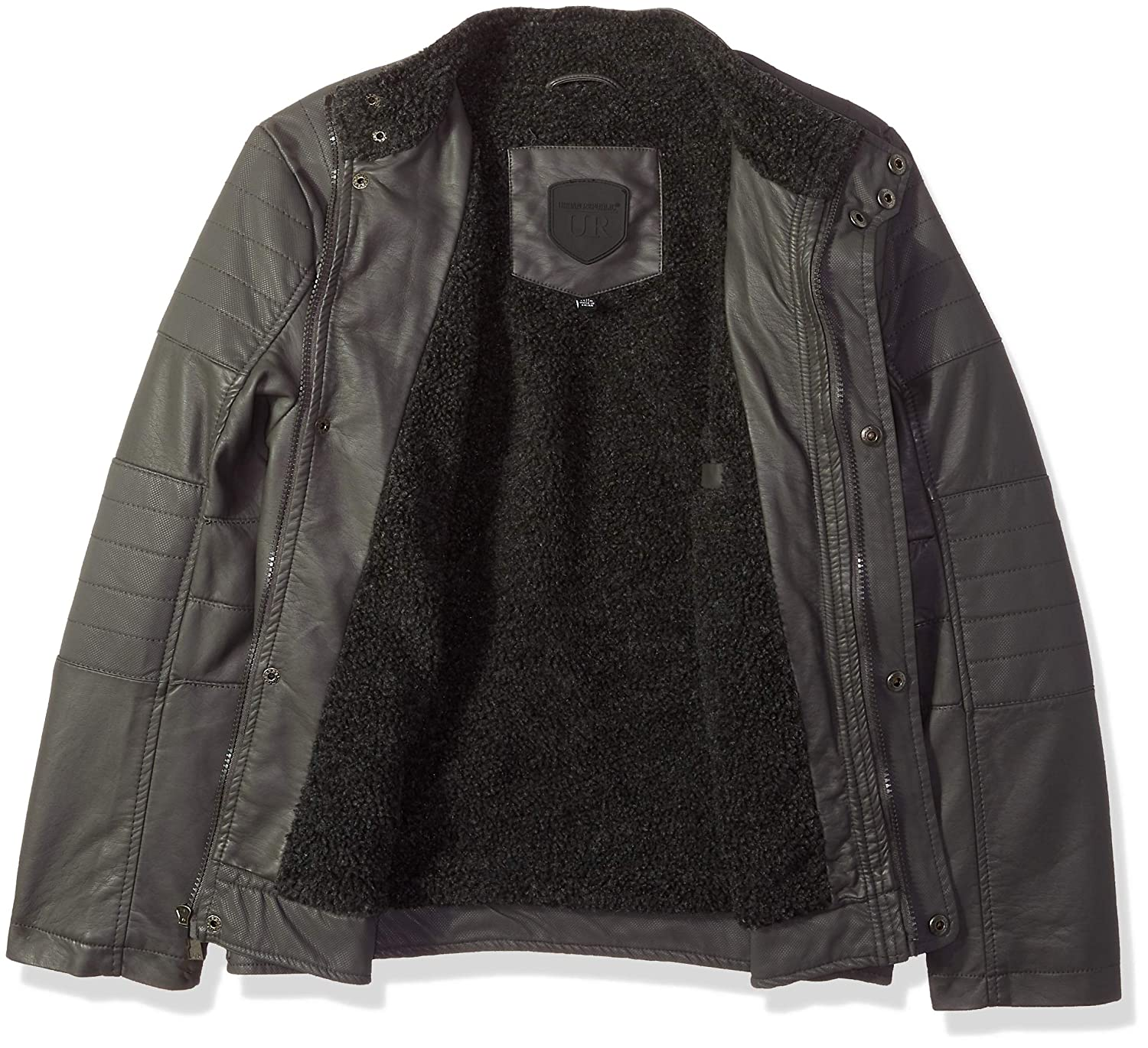Urban Republic Boys Textured Pu Jackets 6347DC