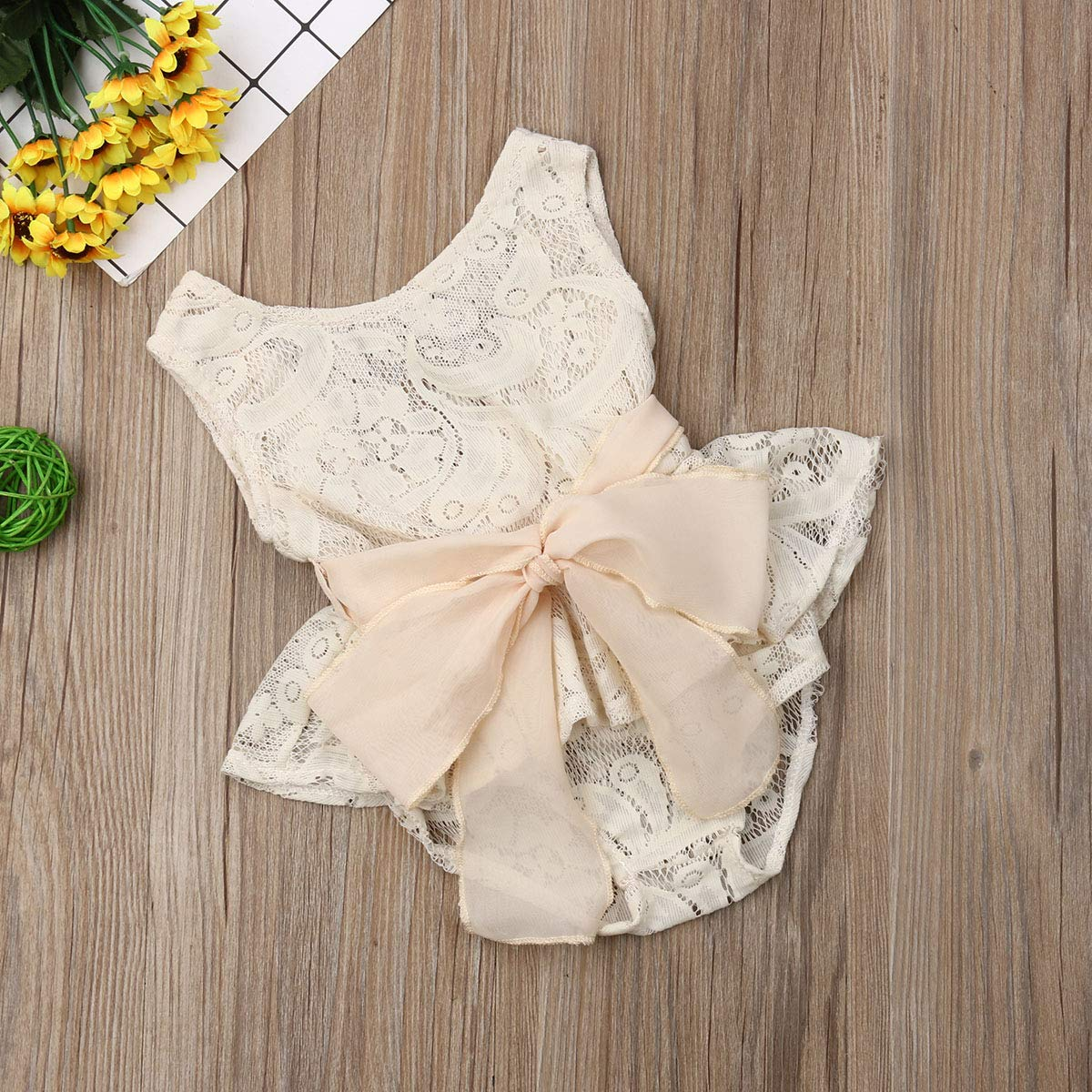 Baby Girls Bodysuits Blue Lace Romper Multiple Styles for All Occasions