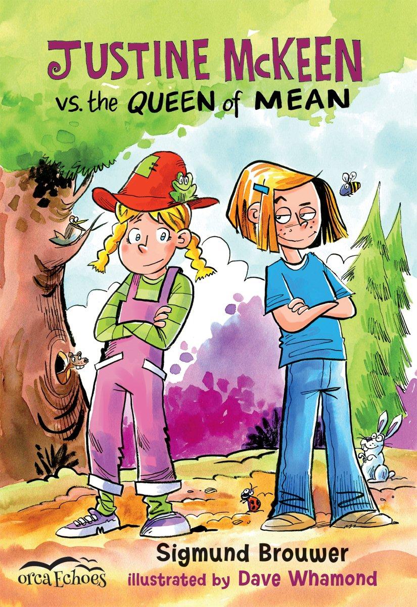 Read Online Justine Mckeen vs. the Queen of Mean (Orca Echoes) ebook