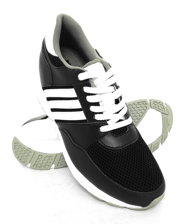 TALLA 40 EU. Zerimar Zapatos con Alzas Hombre| Zapatos Deportivos con Alzas Que Aumenta su Altura + 8 cm| Zapatillas Hombre de Vestir| Zapatos Hombre Casuales