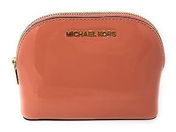 27bce2f39e65 Amazon.com  Michael Kors Jet Set Travel Patent Leather Cosmetic ...