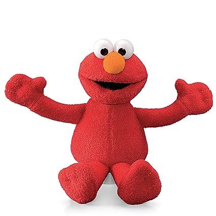 Amazon Com Sesame Street Elmo Plush Beanbag Character 6 Inch Toys