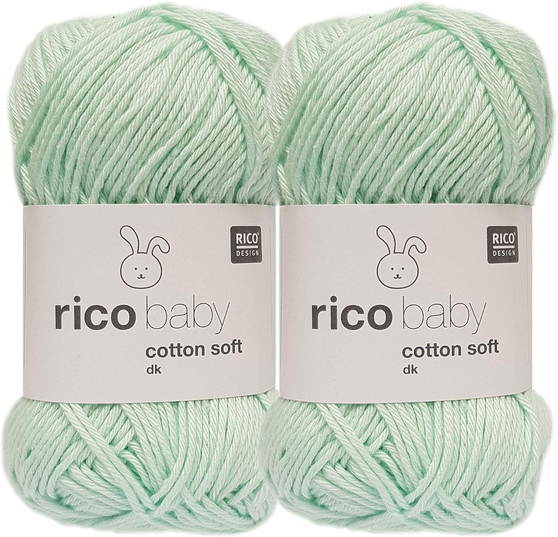 1 instrucciones para un cerdito de mar. Rico Baby Cotton Soft DK 2 x 50 gramos