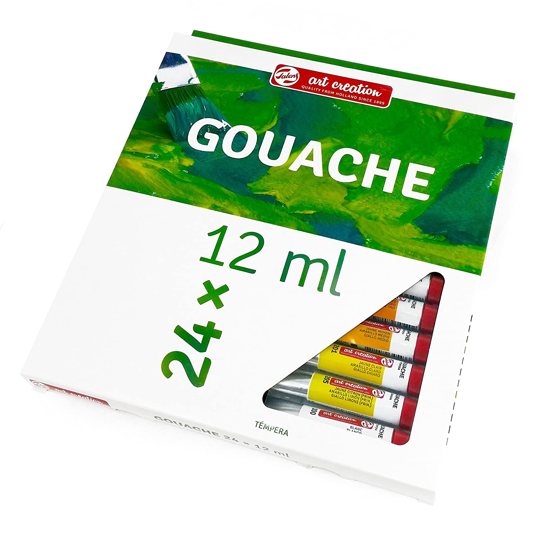 Royal Talens – Art Creation Gouache-Farben – Set 24 x 12 ml Tuben ...