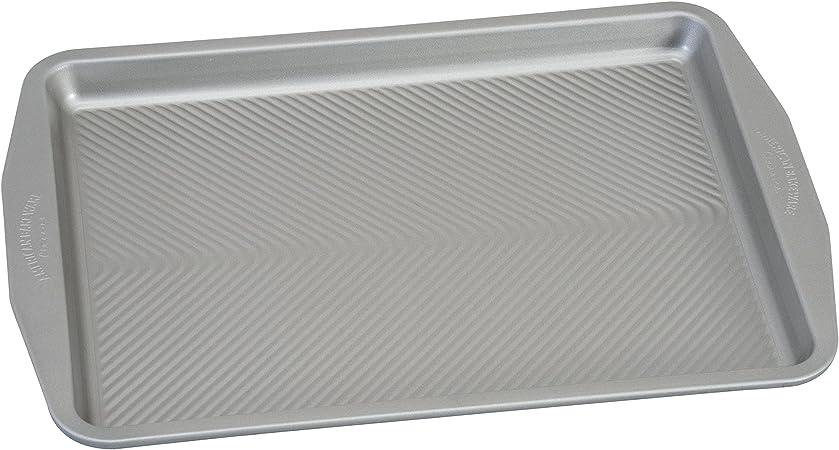USA Pan 1606CR-3-ABC American Bakeware Classics Half Sheet Baking Pan and Cooling Rack Aluminized Steel